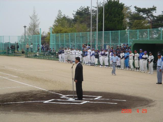 彦根市学童野球連盟春季大会