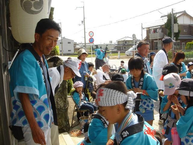 西沼波町新神社祭り