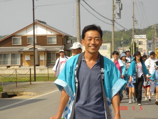 西沼波町新神社祭り2