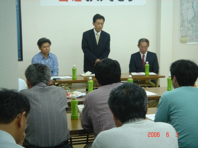 田中しょうご選対会議