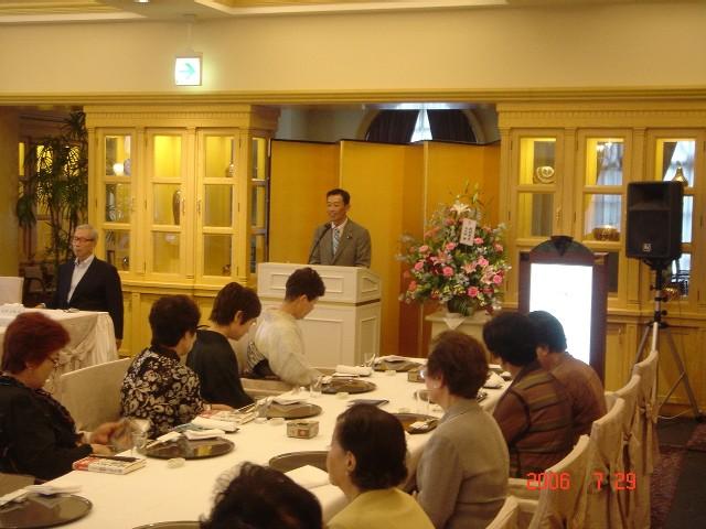 武村正義先生の出版祝い