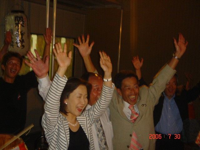 長浜市議選投開票