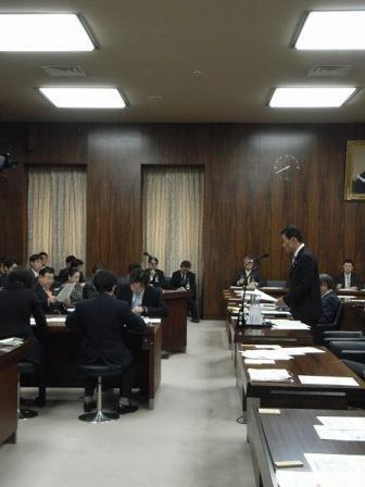 衆院環境委員会にて質疑