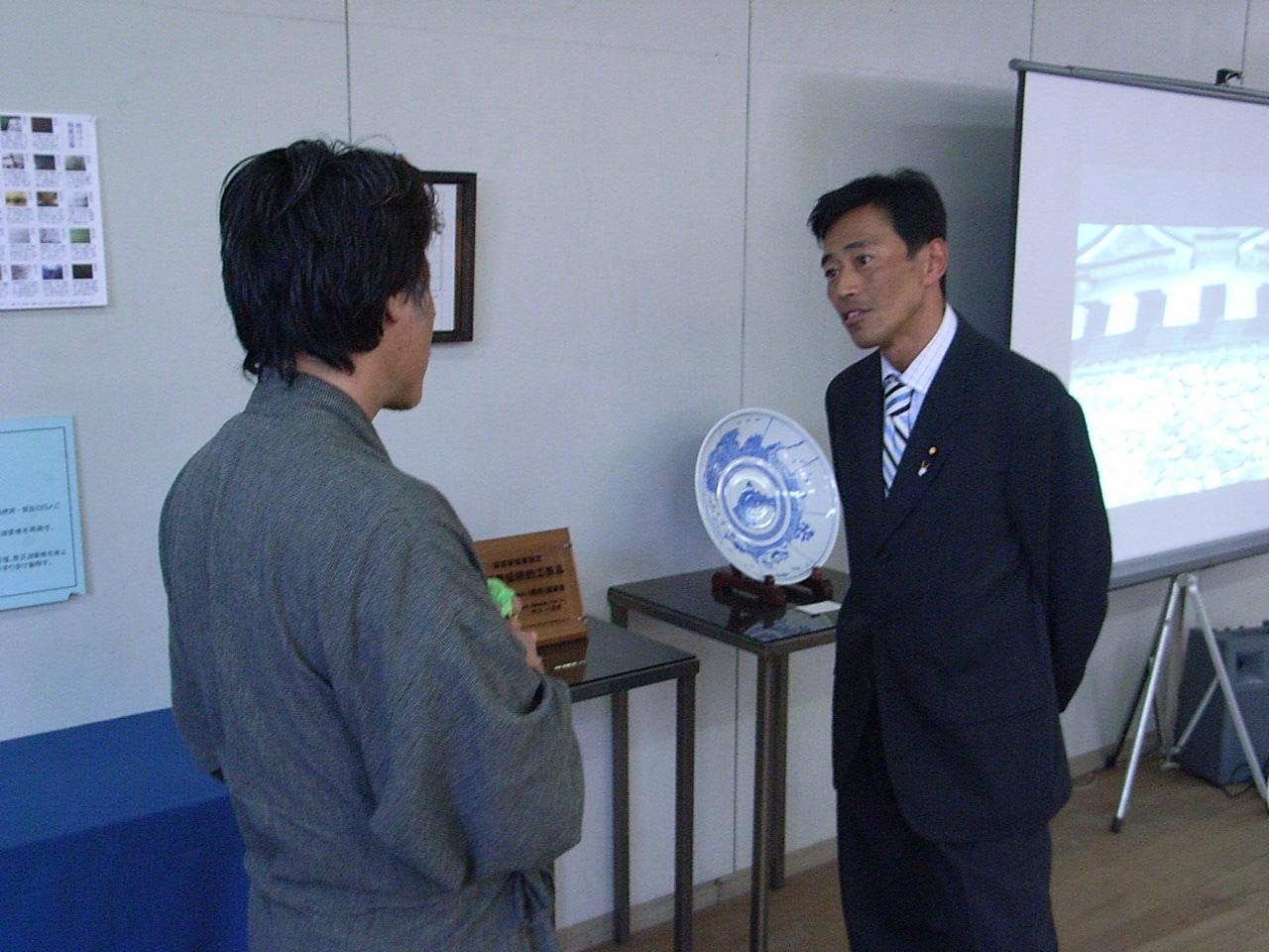 琵琶湖湖東焼作品展