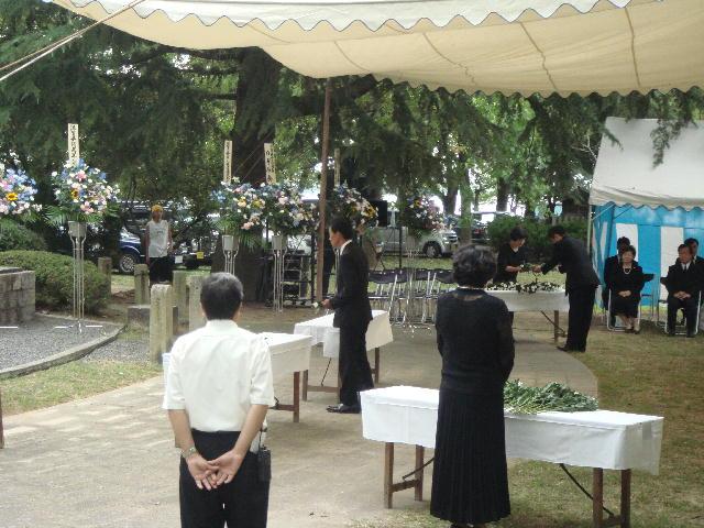 平和祈念滋賀県戦没者追悼式典