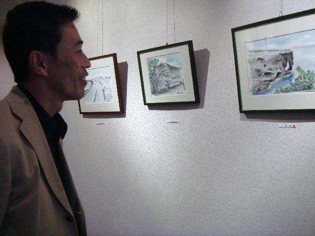 中谷忠義氏スケッチ展