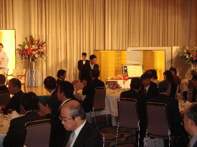 中島一氏旭日小綬章受章記念祝賀会