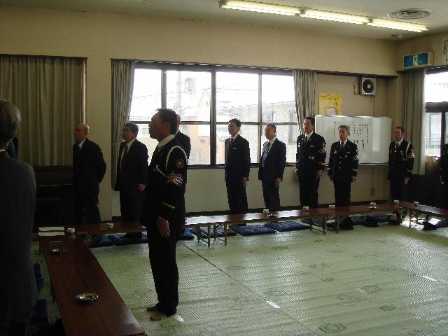 平成20年度旭森連合自治消防出初式