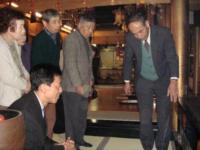 浄光寺修復見学会(2)