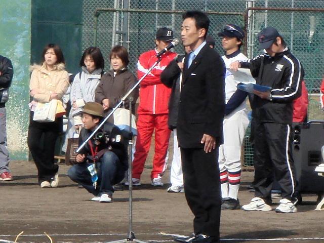 多賀町グリーンカップ争奪第4回学童軟式野球開会式(2)