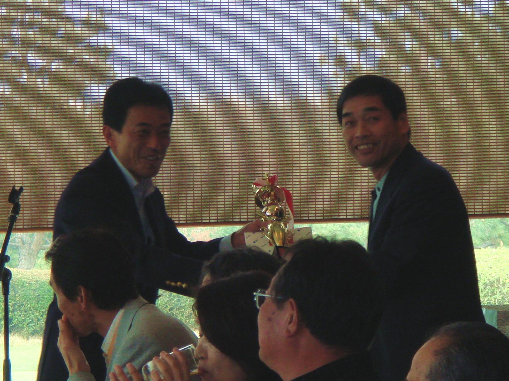 田島一成を囲むゴルフ大会(3)