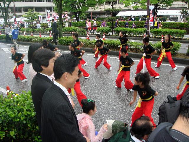 井伊直弼と開国150年祭「彦根よさこい春の舞」(2)