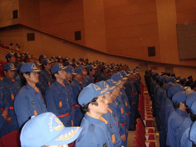 長浜市消防団統合結団記念式典(1)