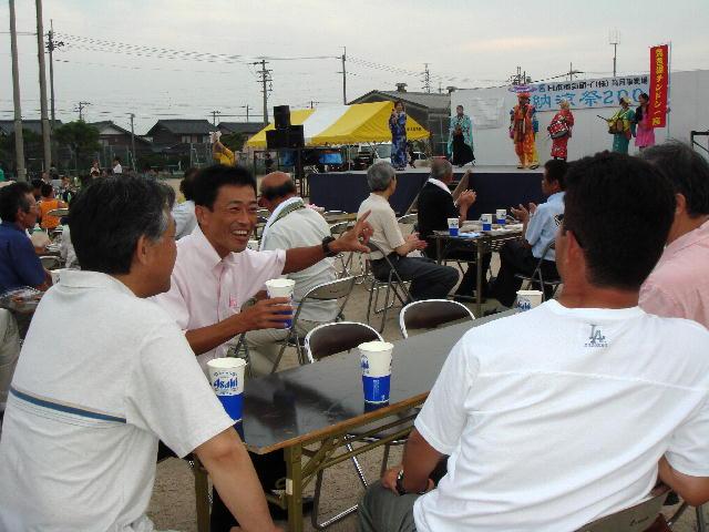 日本電気硝子納涼祭