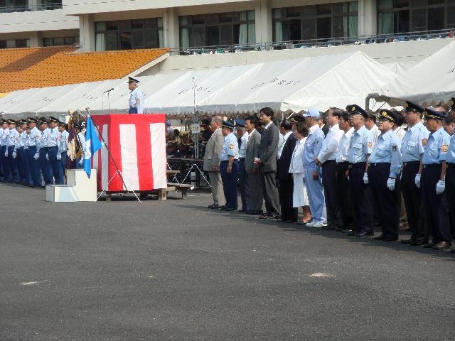 第43回滋賀県消防操法訓練大会(1)