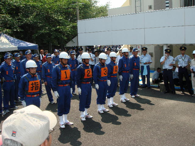 第43回滋賀県消防操法訓練大会(2)