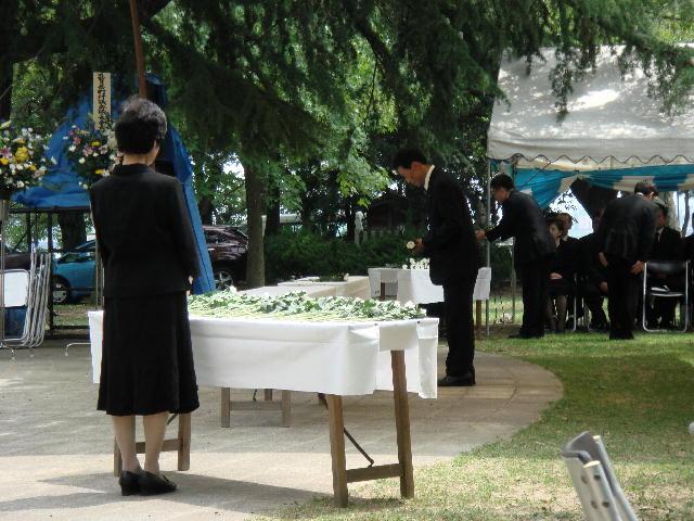平和祈念滋賀県戦没者追悼式