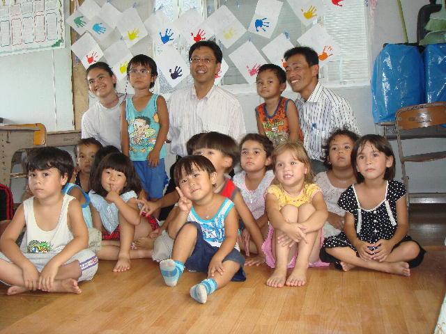 ブラジル人学校「コレジオ サンタナ」(愛荘町)訪問(1)
