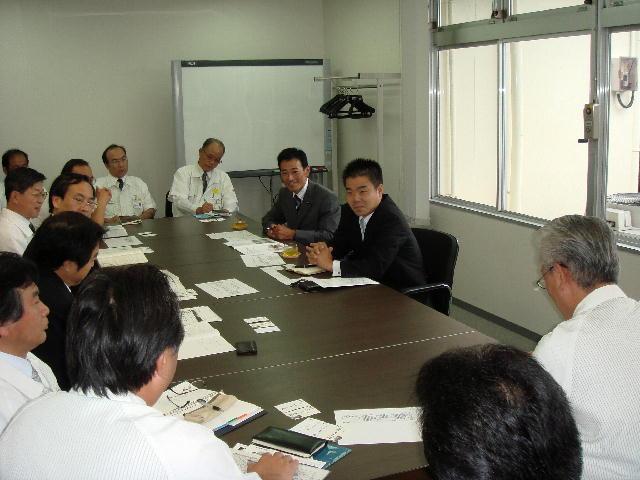 京セラ八日市工場訪問