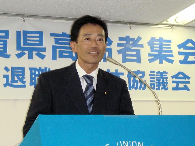 連合滋賀・高退協2008滋賀県高齢者集会(1)