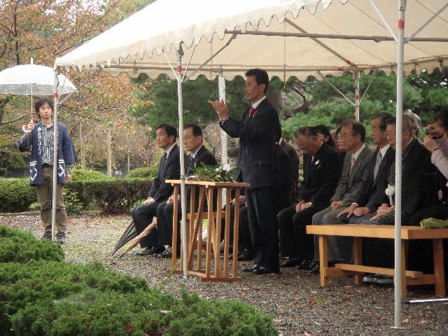 小江戸彦根のお城まつり「奉告祭」