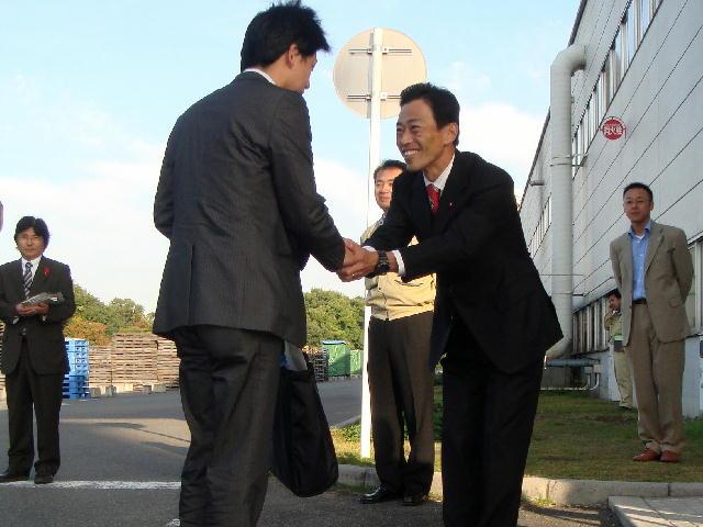 パナホーム株式会社湖東工場門立ち