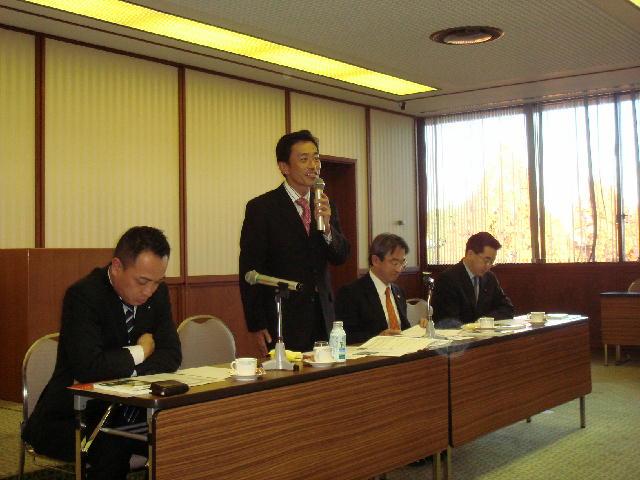 民主党愛知県連COP10協力議員会議講演