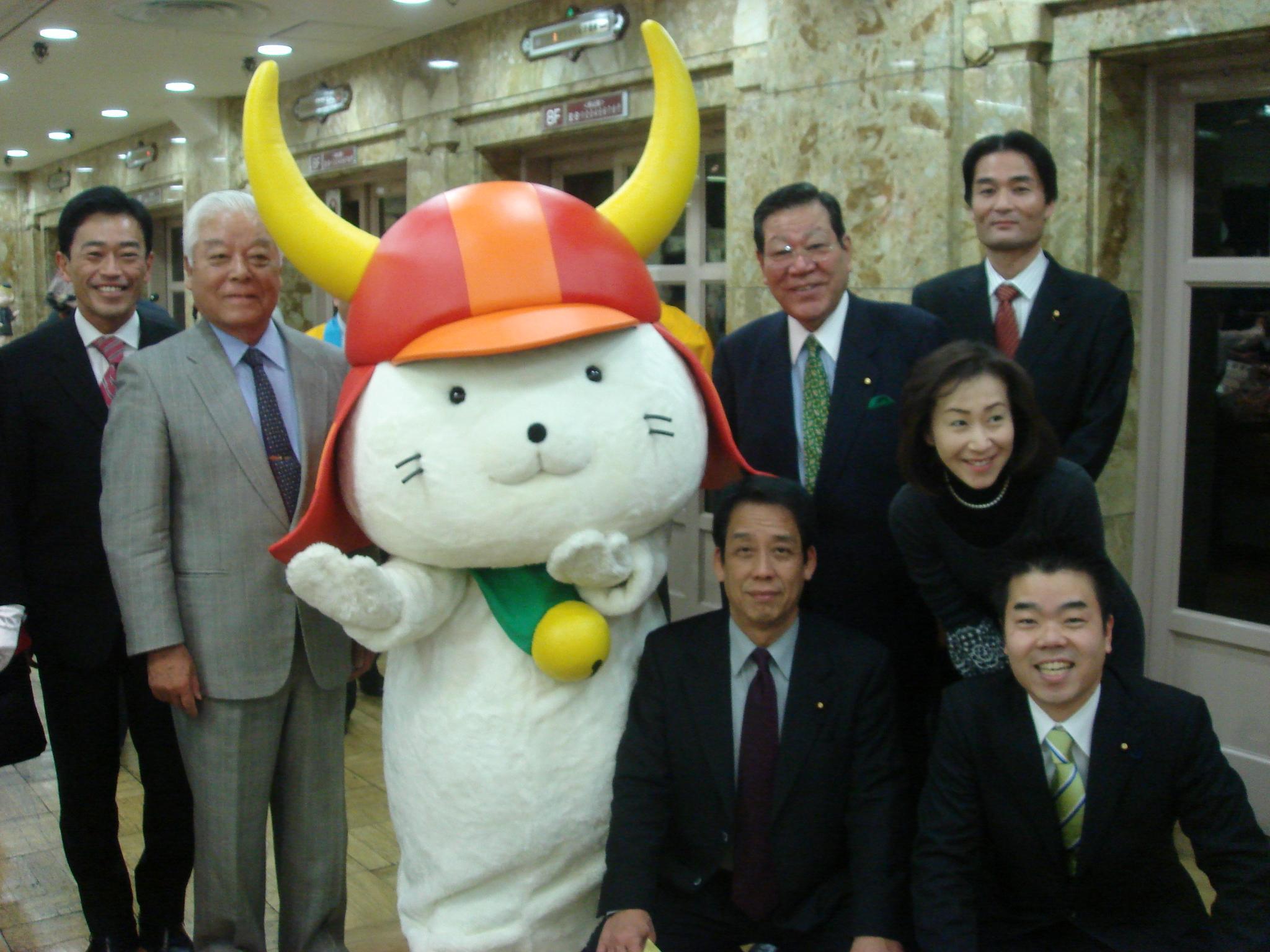 日本橋高島屋「大近江展」開会式