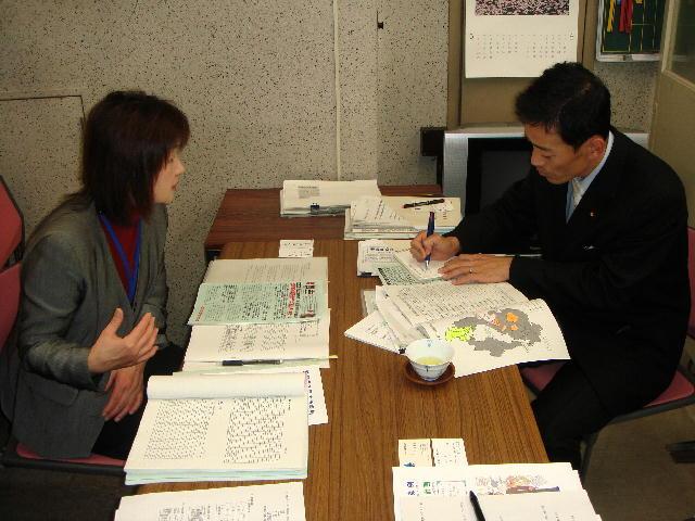 滋賀県立消費生活センター・石川所長との懇談