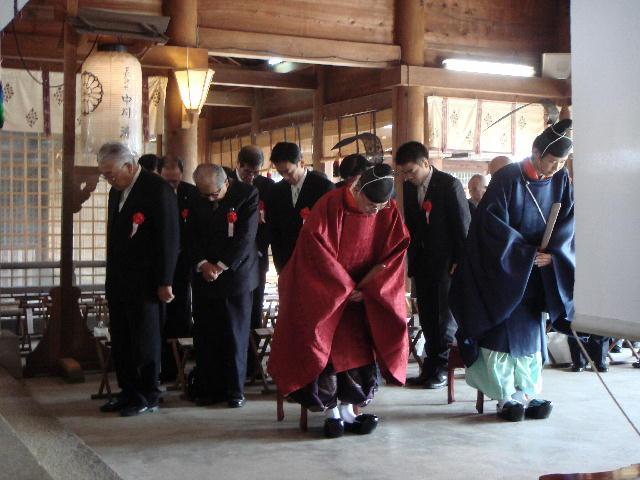 滋賀県護国神社春季大祭