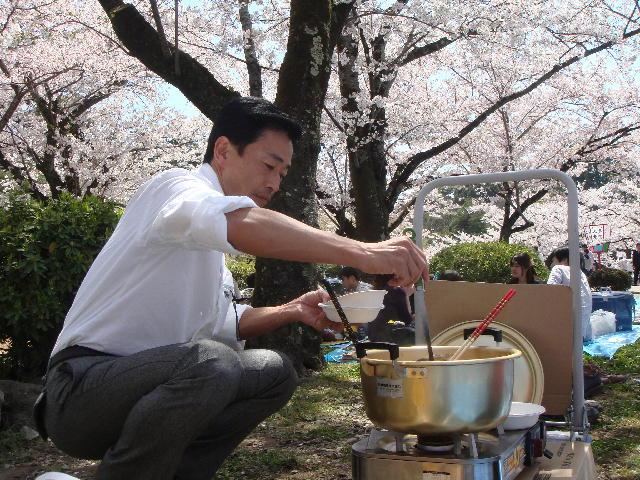 彦根後援会お花見(1)