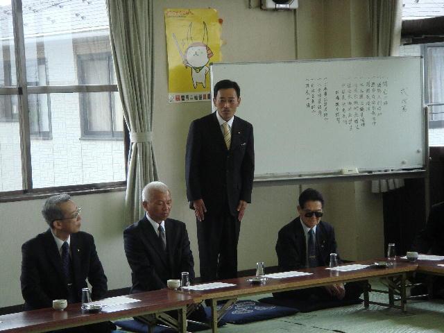 滋賀県消防操法訓練大会出場「第8分団決起大会」