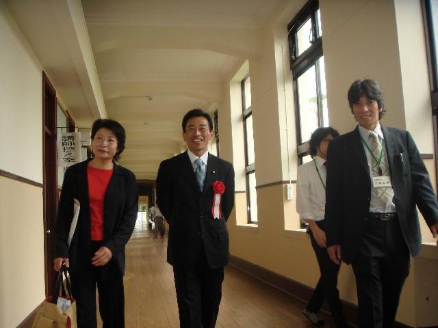 犬上郡豊郷小学校旧校舎郡竣工式典(2)