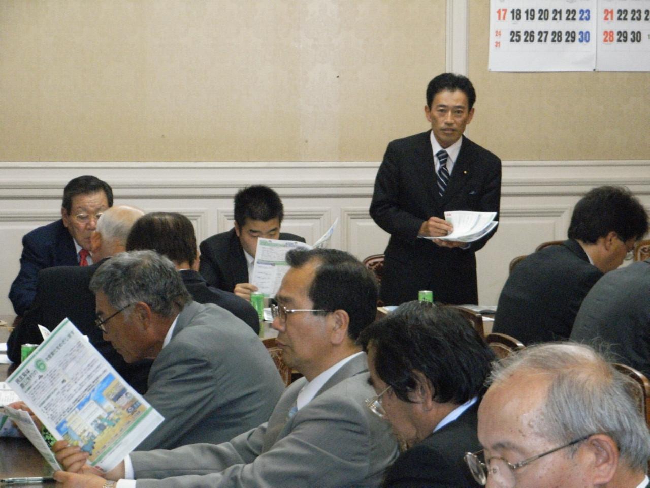 滋賀県農業委員会代表者との意見交換