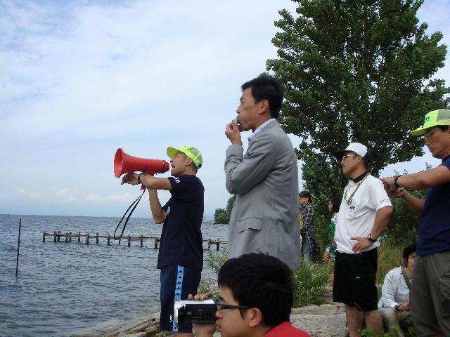 第10回記念湖北トライアスロンin南浜(2)