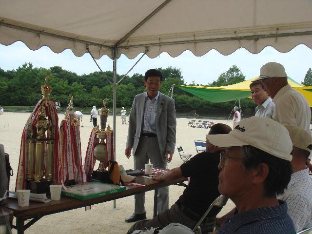 東近江市老人クラブ・湖東ブロックゲートボール大会