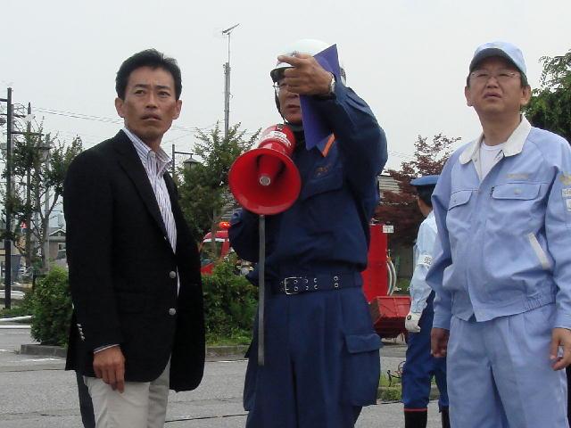 東浅井郡防災訓練(1)