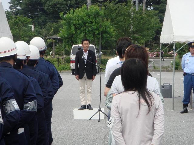 東浅井郡防災訓練(2)