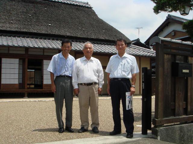 愛荘町・西澤眞蔵記念館にて