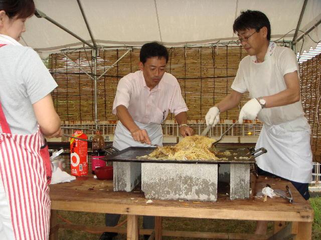 地元・西沼波町夏祭り