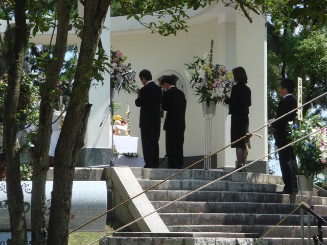 私鉄平和記念滋賀県戦没者追悼式