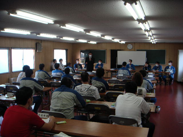日本電気硝子労働組合職場集会