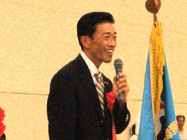 滋賀県障害者スポーツ協会第5回グラウンド・ゴルフ選手権大会開会式(2)