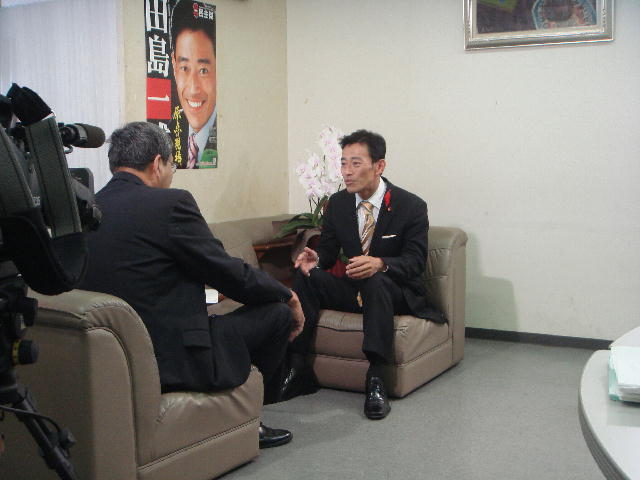 びわこ放送インタビュー