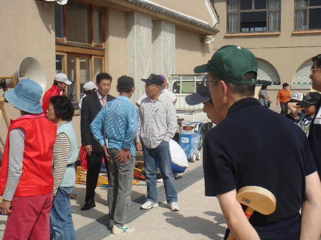 グランドゴルフ大会(若葉小学校にて)
