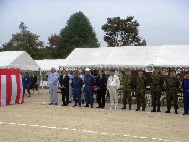 平成21年度滋賀県総合防災訓練
