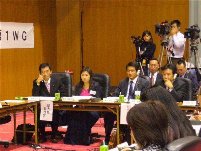 行政刷新会議第1WG事業仕分け(2)