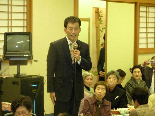 後援会女性部「りんごの会」副大臣就任祝い懇親会(3)