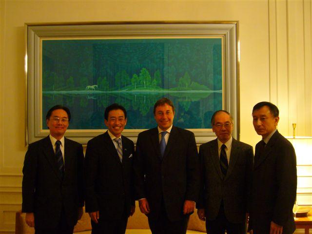 UNEPシュタイナー事務局長とのバイ会談(2)