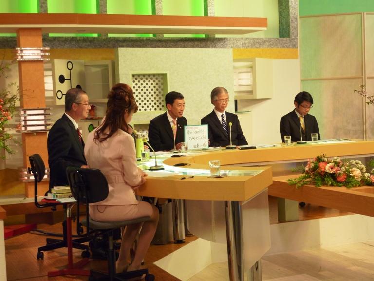 びわ湖放送「持続可能な滋賀社会〜一人の百歩より百人の一歩」番組出演